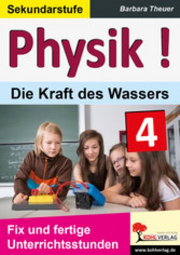 eBook Physik ! / Band 4: Die Kraft des Wassers Cover