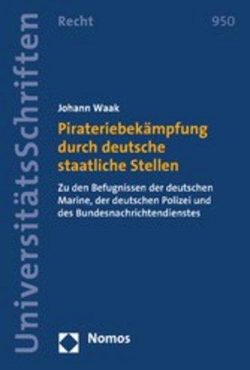 eBook Pirateriebekämpfung durch deutsche staatliche Stellen Cover