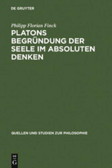 eBook Platons Begründung der Seele im absoluten Denken Cover