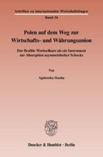 eBook Polen auf dem Weg zur Wirtschafts- und Währungsunion. Cover