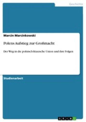 eBook Polens Aufstieg zur Großmacht Cover