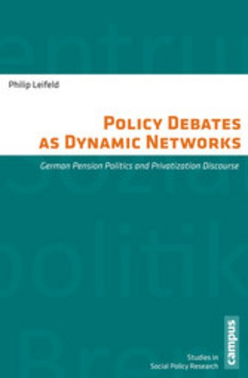 eBook Policy Debates as Dynamic Networks Cover