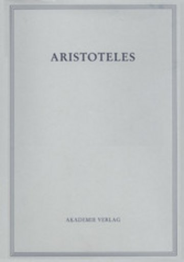 eBook Politik - Buch VII und VIII Cover