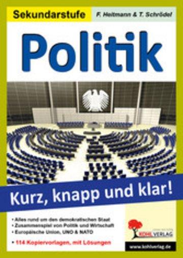 eBook Politik - Grundwissen kurz, knapp und klar! Cover