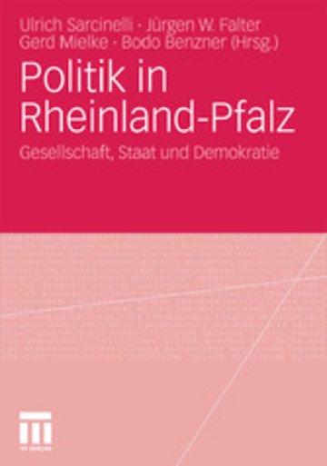 eBook Politik in Rheinland-Pfalz Cover