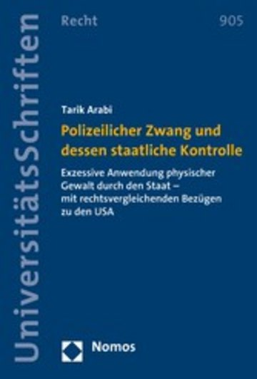 eBook Polizeilicher Zwang und dessen staatliche Kontrolle Cover