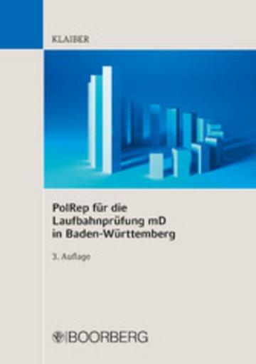 eBook PolRep für die Laufbahnprüfung mD in Baden-Württemberg Cover