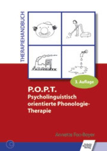 eBook P.O.P.T. Psycholinguistisch orientierte Phonologie-Therapie Cover