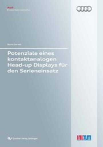 eBook Potenziale eines kontaktanalogen Head-up Displays für den Serieneinsatz Cover