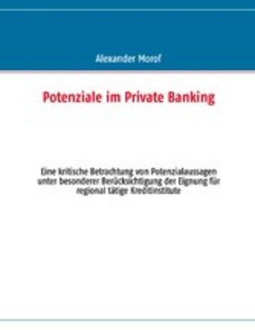 eBook Potenziale im Private Banking Cover
