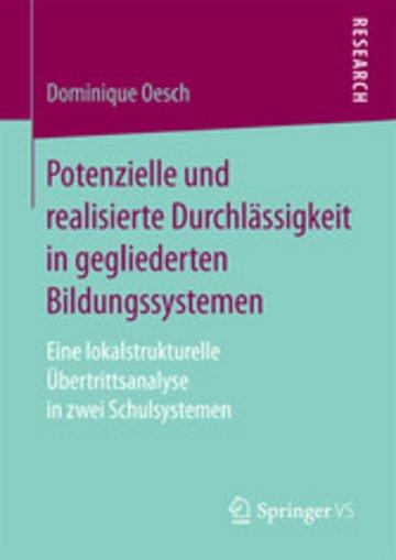 eBook Potenzielle und realisierte Durchlässigkeit in gegliederten Bildungssystemen Cover