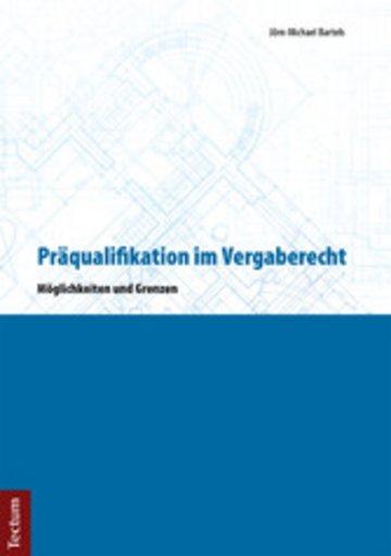 eBook Präqualifikation im Vergaberecht Cover