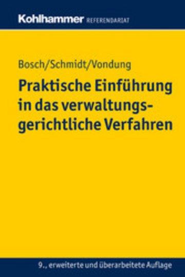 eBook Praktische Einführung in das verwaltungsgerichtliche Verfahren Cover