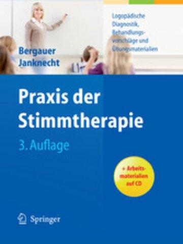 eBook Praxis der Stimmtherapie Cover