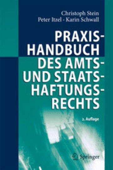 eBook Praxishandbuch des Amts- und Staatshaftungsrechts Cover