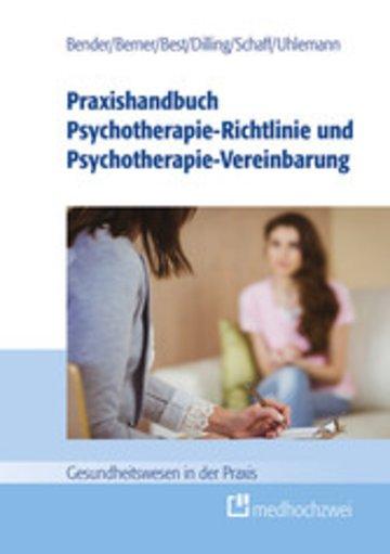 eBook Praxishandbuch Psychotherapie-Richtlinie und Psychotherapie-Vereinbarung Cover
