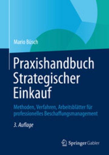 eBook Praxishandbuch Strategischer Einkauf Cover