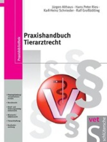 eBook Praxishandbuch Tierarztrecht Cover