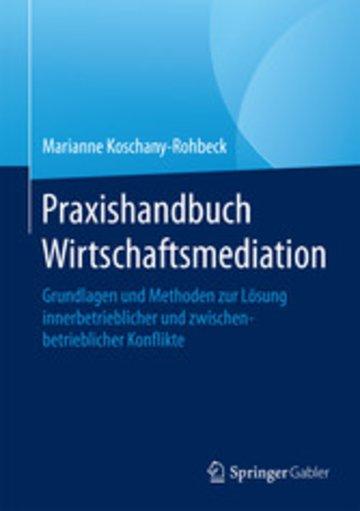 eBook Praxishandbuch Wirtschaftsmediation Cover
