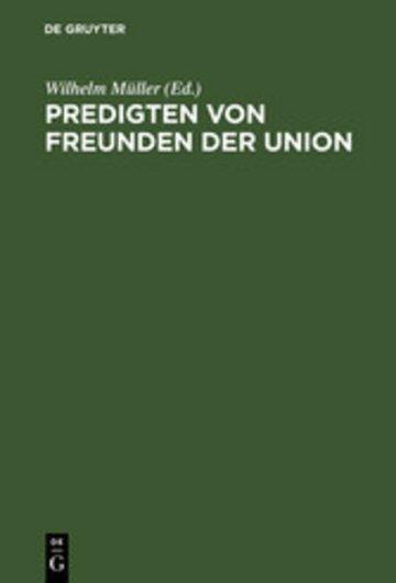 eBook Predigten von Freunden der Union Cover