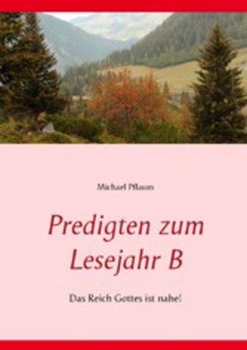 eBook Predigten zum Lesejahr B Cover