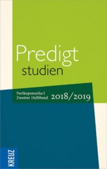 eBook Predigtstudien 2018/2019 Cover