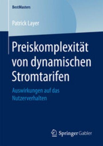 eBook Preiskomplexität von dynamischen Stromtarifen Cover