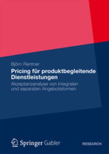 Pricing Für Produktbegleitende Dienstleistungen Akzeptanzanalyse