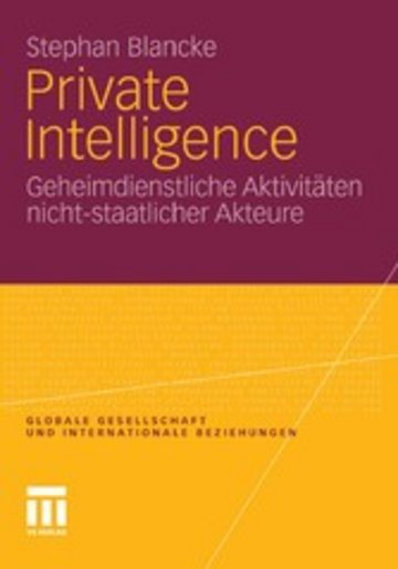 eBook Private Intelligence Cover