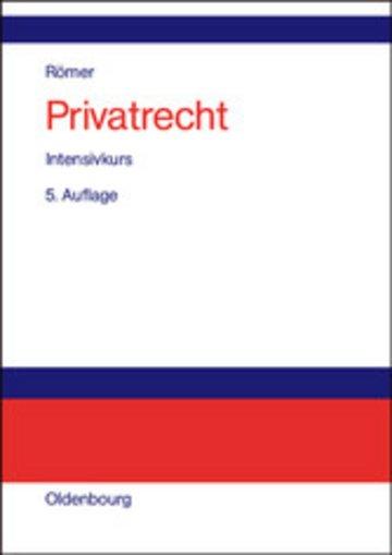 eBook Privatrecht Cover