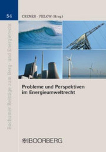 eBook Probleme und Perspektiven im Energieumweltrecht Cover