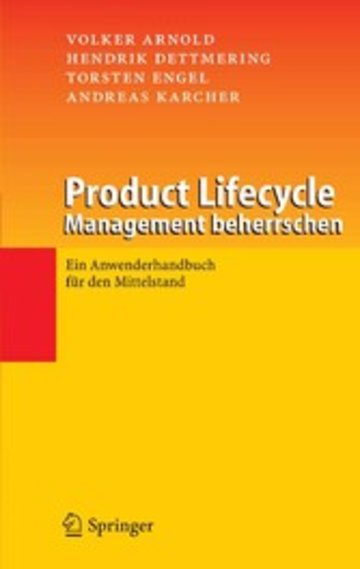 eBook Product Lifecycle Management beherrschen Cover