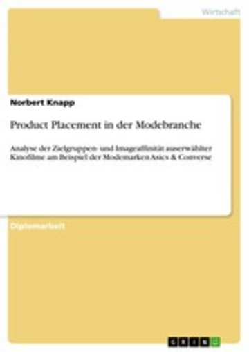 eBook Product Placement in der Modebranche Cover