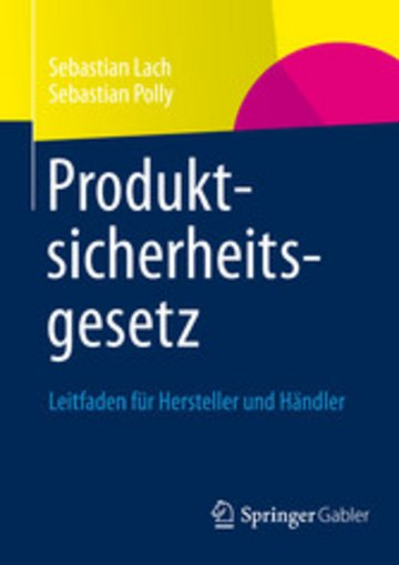 eBook Produktsicherheitsgesetz Cover