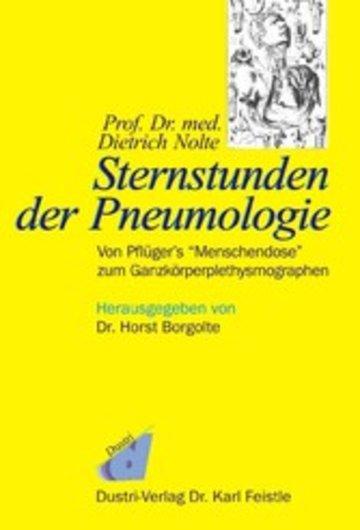 eBook Prof. Dr. med. Dietrich Nolte: Sternstunden der Pneumologie Cover