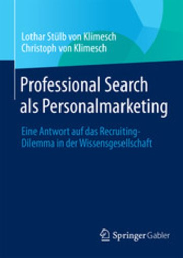 eBook Professional Search als Personalmarketing Cover