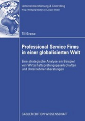 eBook Professional Service Firms in einer globalisierten Welt Cover