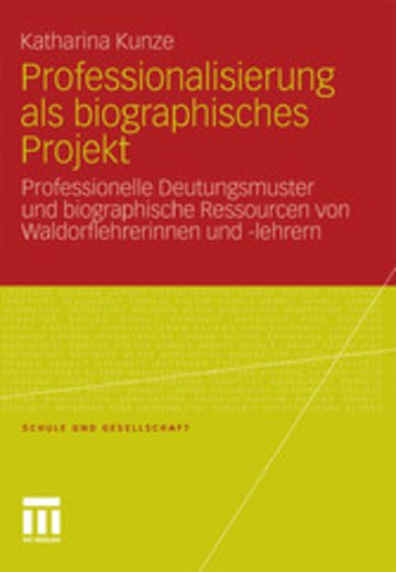 eBook Professionalisierung als biographisches Projekt Cover