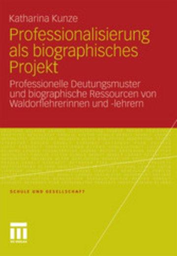 eBook Professionalisierung als biographisches Projekt Cover
