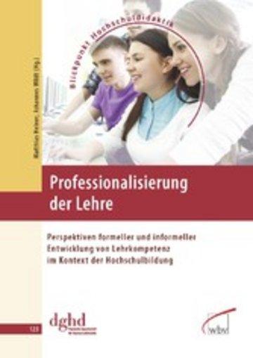 eBook Professionalisierung der Lehre Cover