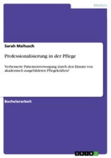 eBook Professionalisierung in der Pflege Cover