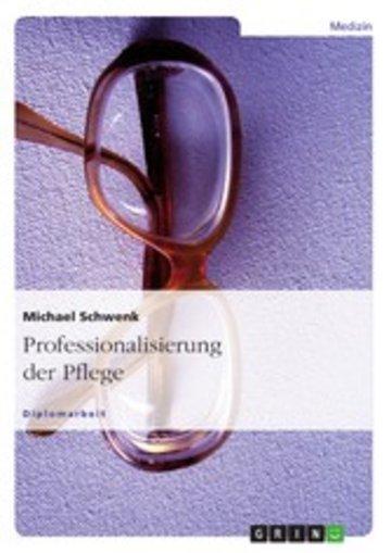 eBook Professionalisierung der Pflege Cover