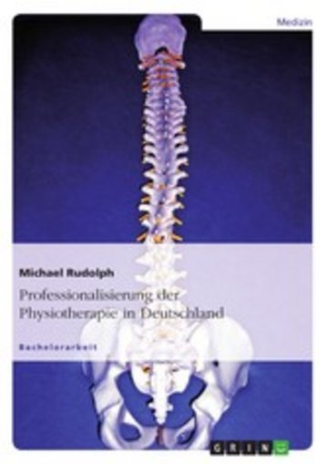 eBook Professionalisierung der Physiotherapie in Deutschland Cover