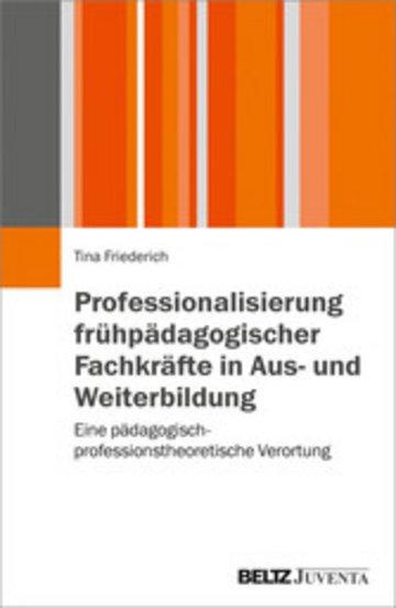 eBook Professionalisierung frühpädagogischer Fachkräfte in Aus- und Weiterbildung Cover