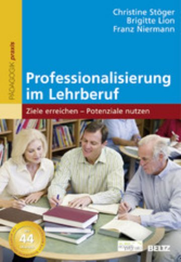 eBook Professionalisierung im Lehrberuf Cover