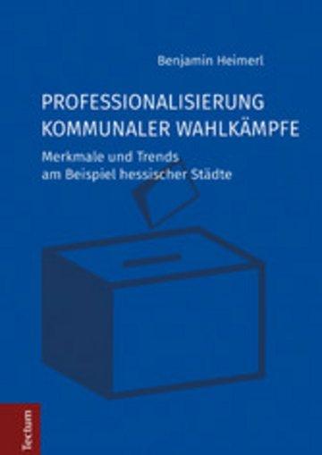 eBook Professionalisierung kommunaler Wahlkämpfe Cover