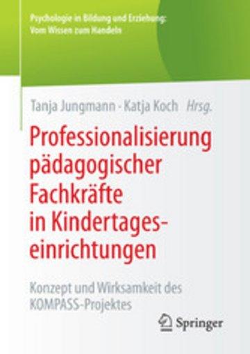 eBook Professionalisierung pädagogischer Fachkräfte in Kindertageseinrichtungen Cover