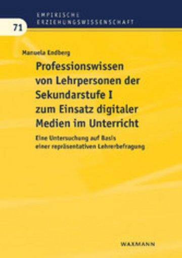eBook Professionswissen von Lehrpersonen der Sekundarstufe I zum Einsatz digitaler Medien im Unterricht Cover