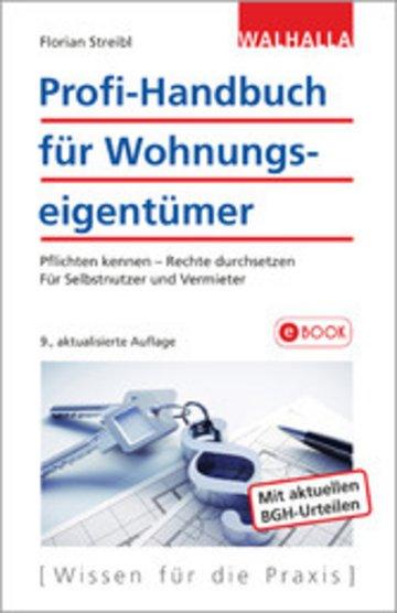 eBook Profi-Handbuch für Wohnungseigentümer Cover