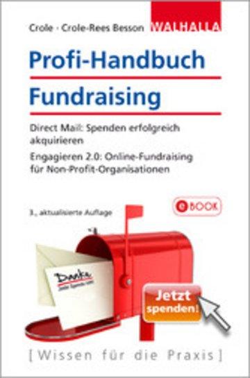 eBook Profi-Handbuch Fundraising Cover